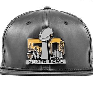New Era 50th Anniversary Super Bowl Flat Brim Hat